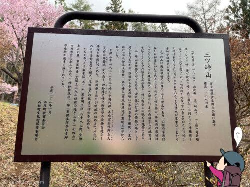 三ツ峠山の説明1