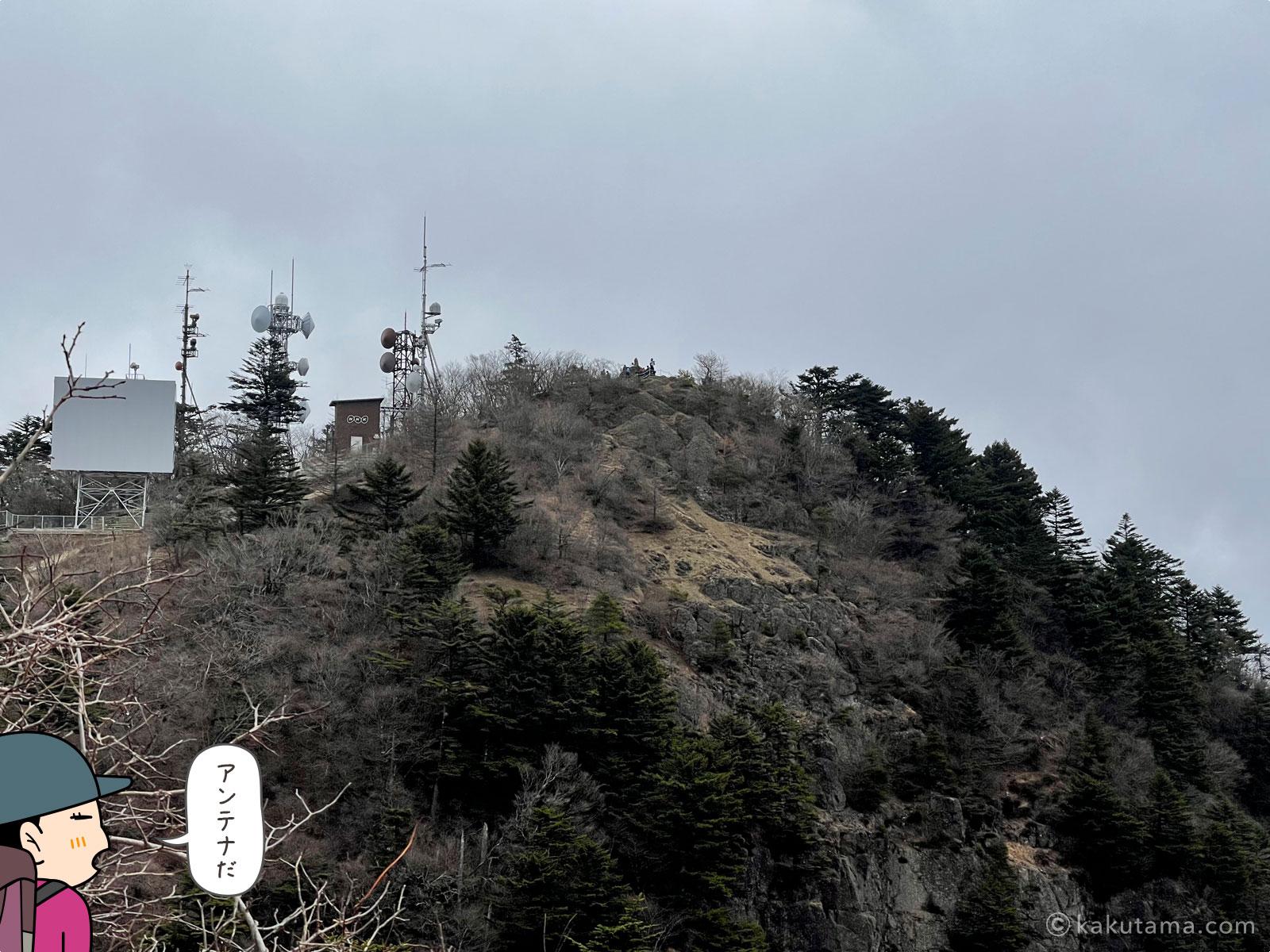 三ツ峠山開運山の写真