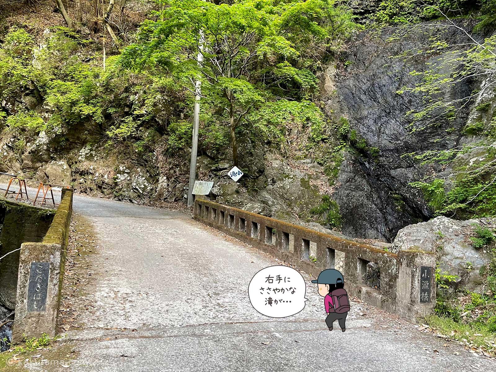 大岳山鍾乳洞へ向かって進む2