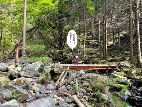 橋が多い大岳鍾乳洞コース