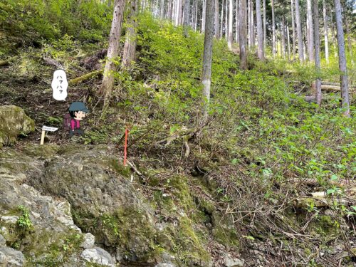 大岳鍾乳洞コースを登る7