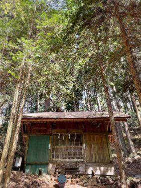 大岳山の大嶽神社